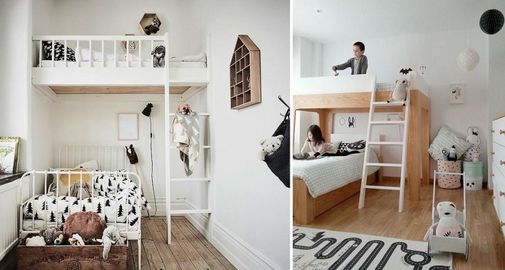Pokój rodzeństwa jak wykorzystać łóżko piętrowe