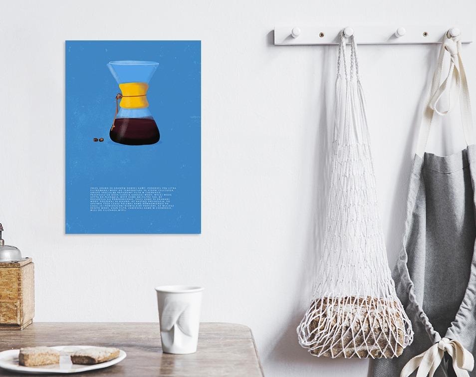 Sposoby parzenia kawy. Plakaty z kawą