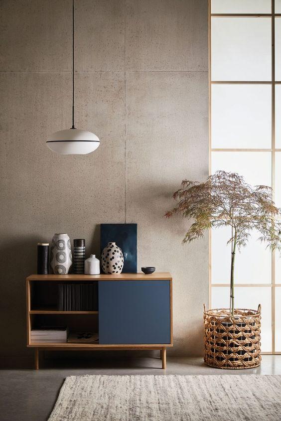 Przykład minimalizmu we wnętrzu
