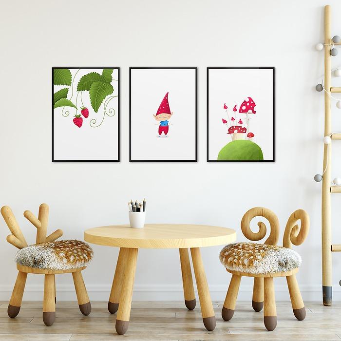 Pokój-dzieciaka-zestaw-plakatów