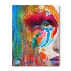 malowana-etno-twarz-kobiety-obraz-do-przedpokoju