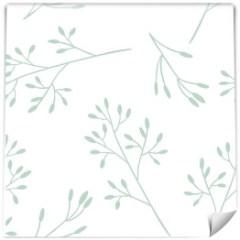 tapeta-motyw-roslinny-galazki-mietowe-dekoracje