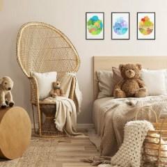 dekoracje-do-pokoju-dzieciecego-galeria-scienna