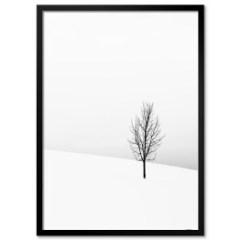 minimalistyczne-drzewo-plakat-do jadalni