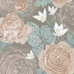 roza-ogrodowa-vintage-styl
