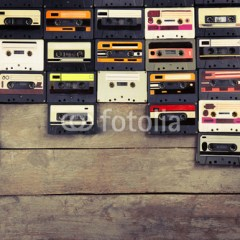kaseta-magnetofonowa-vintage