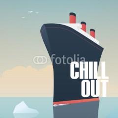 statek-i-góra-lodowa-plakat-z-napisem