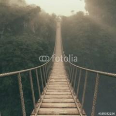 most-linowy-nad-przepaścią-fototapeta-flizelinowa
