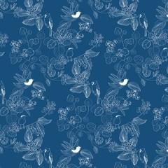 fototapeta-ptaszki-classic-blue