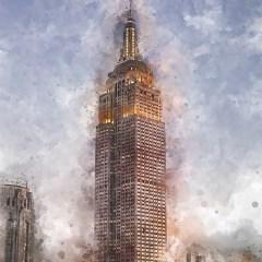 usa-nowy-jork-empire-state-building-obraz-na-ścianę