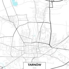 Mapa Tarnowa