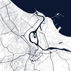 czarno-biała-mapa-gdańska
