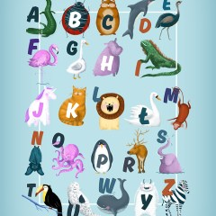 dzieciecy-alfabet-ze-zwierzatkami