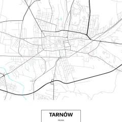 plan-miasta-tarnowa-bialo-czarny