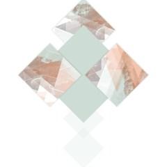 pastelowa-ilustracja-geometryczne-wzory-plakat-na-ścianę