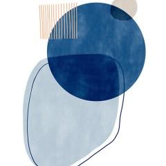 abstrakcja-classic-blue