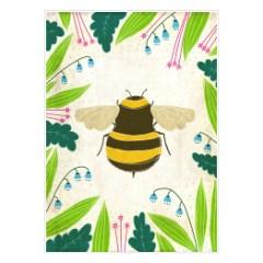 polskie-zwierzeta-pszczolka-plakat-do-pokoju-dziecka