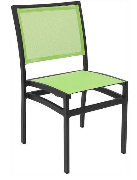 outdoor restaurant chairs sure fit slipcovers chair batyline white weave furniture