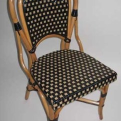 French Cafe Chairs Rocking Chair Legs Bistro Rattan Wood