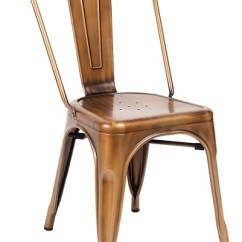 Industrial Bistro Chairs Outdoor Wicker Rocking Chair Uk Dining