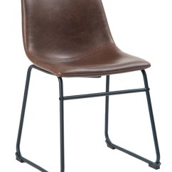 Industrial Metal Chairs Design Within Reach Dining Black