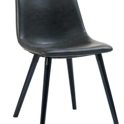 Steel Vinyl Chair Danish Dining Chairs Uk Industrial Upholstered