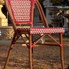 French Cafe Chairs Target Toddler Bistro Rattan Aluminum