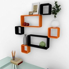 Corner Sofa Set Online India Sofas And Sectionals Com Wall Mounted Shelves - Orange Black