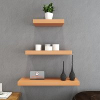 Home Decor Wall Shelf Set Of 3 Floating Shelves - Bavarian ...