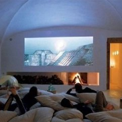 Blue Living Room Walls Interior Design Photo Gallery Turn Your Into A Mini Home Theatre