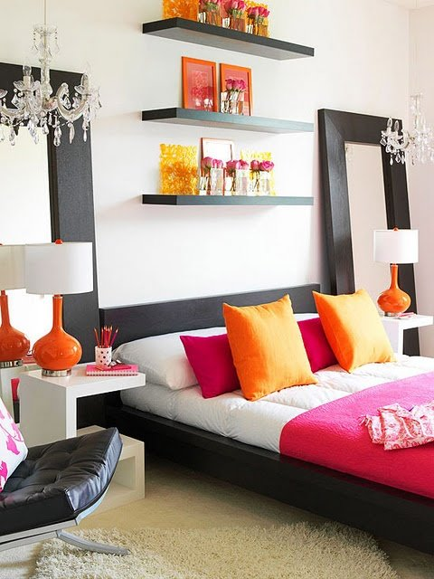Colorful Bedroom Design and Decoration Ideas