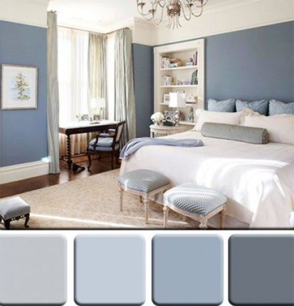 monochromatic color scheme bedroom Color Wheel for Ideal Color Themes for your Interior