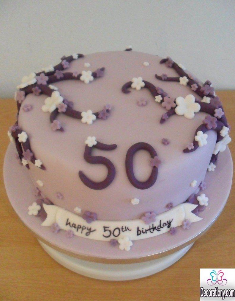 13 Impressive 50th Birthday Cakes Designs Decor Or Design