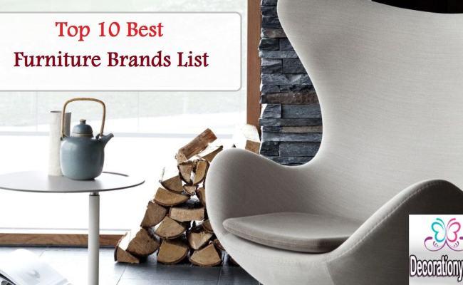 Top 10 Best Furniture Brands List Decor Or Design