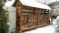 DIY Outdoor Firewood Rack Ideas and Designs for 2018 ...