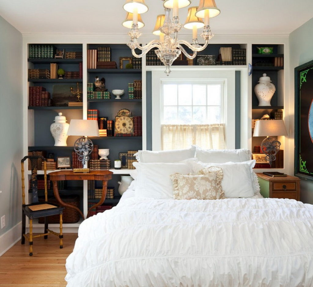 Master Bedrooms With Builtin Shelving  Decor Or Design