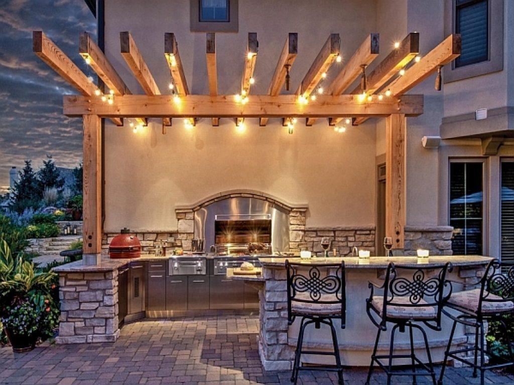 unique patio lighting ideas with