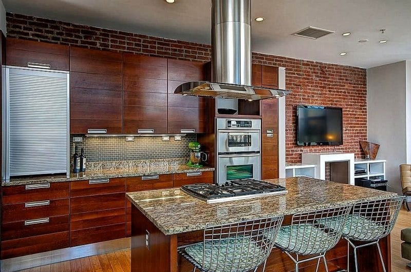 27 Brown Kitchen Designs  Dcor Outline