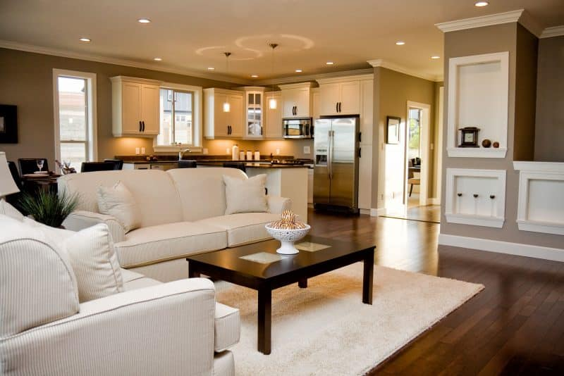 Open Concept Living Room Designs