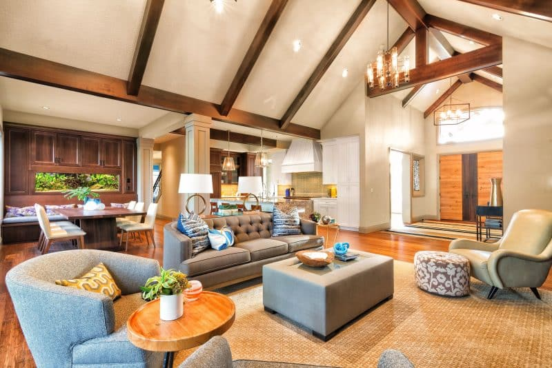 OpenConcept Living Room Designs