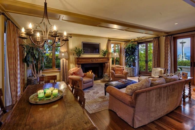 27 Open Living Room To Dining Room Design Ideas D 233 Cor