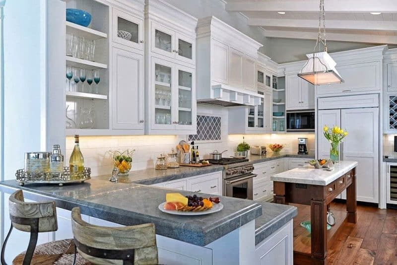 Large U Shaped Kitchen Designs