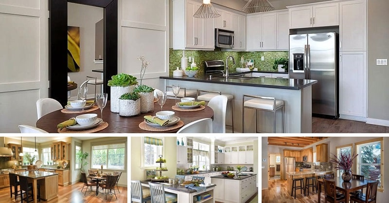 Small Kitchen And Dining Design