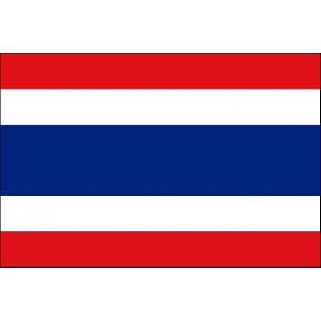 Drapeau Thailande Tissu 90 X 150 Cm Dcors Du Monde