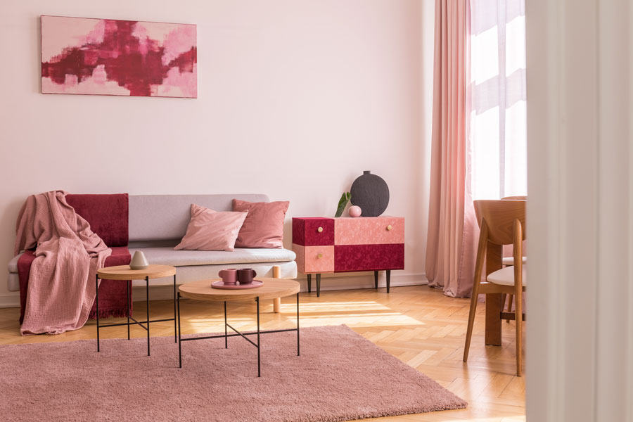 Gray And Red Living Room Ideas Red And Grey Wall Lounge Decor