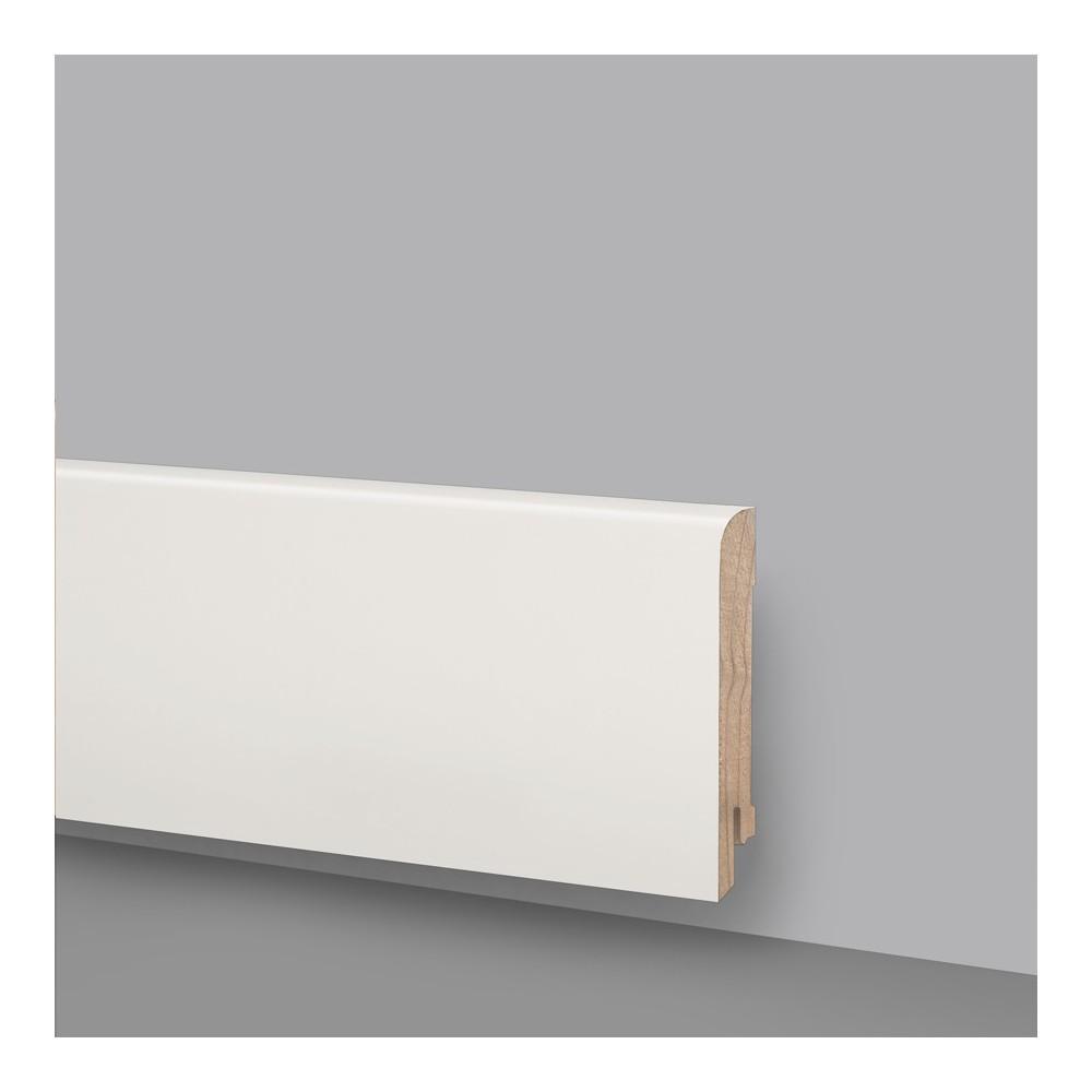Battiscopa legno laccato Bianco Ral 9010 Art 6243
