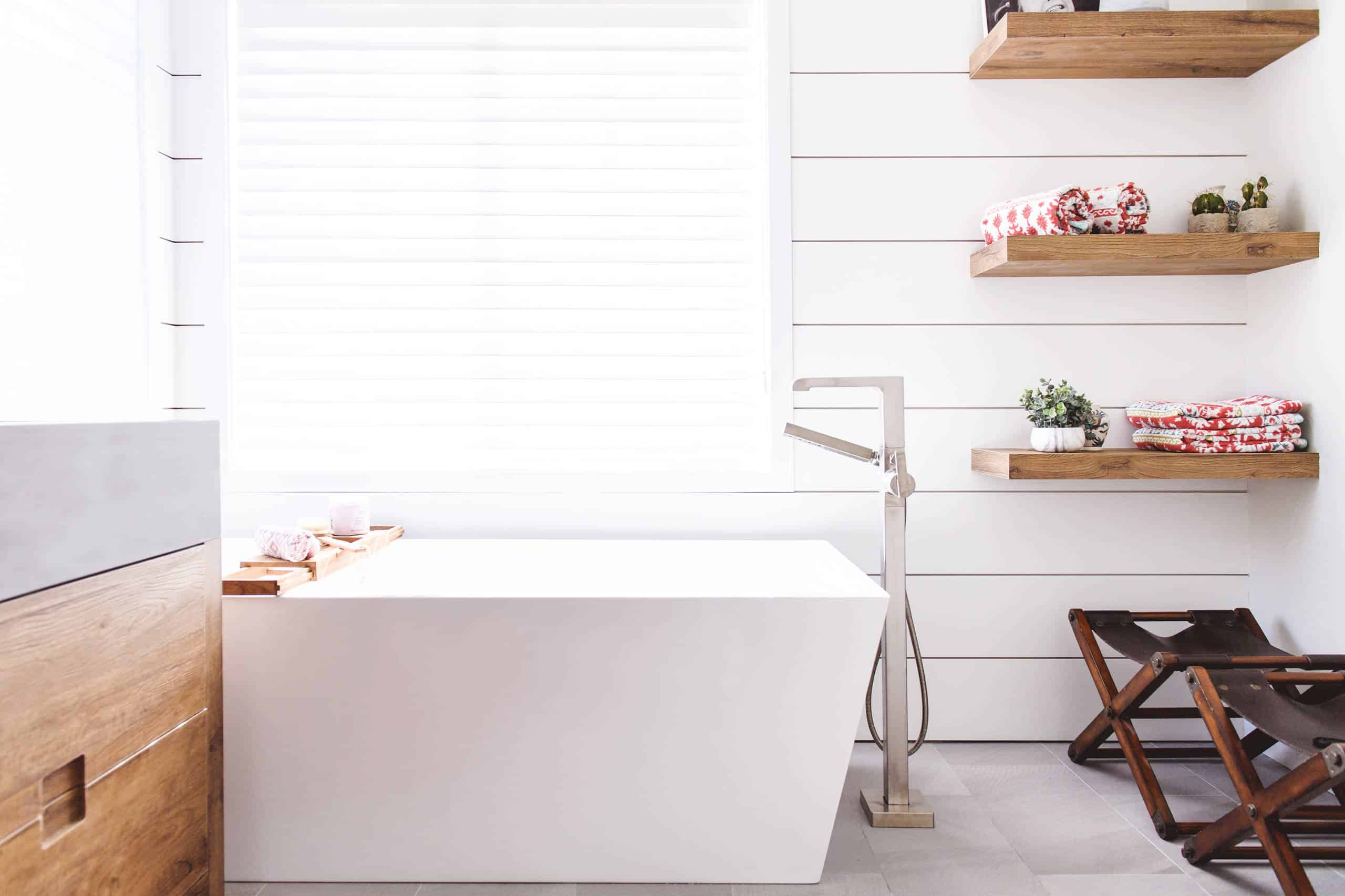 Home Accessories Anself 3 Tier Metal Shower Corner Shelf