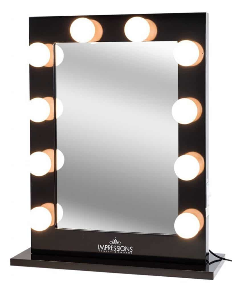 How To Make A Makeup Vanity Mirror With Lights  Makeup