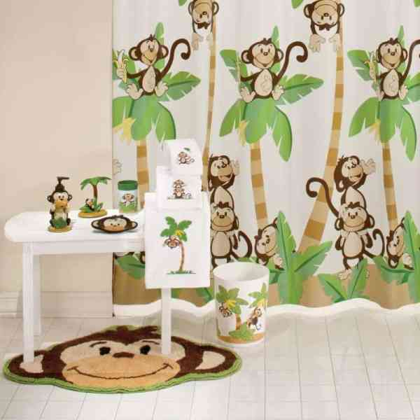 Monkey Bathroom Decor
