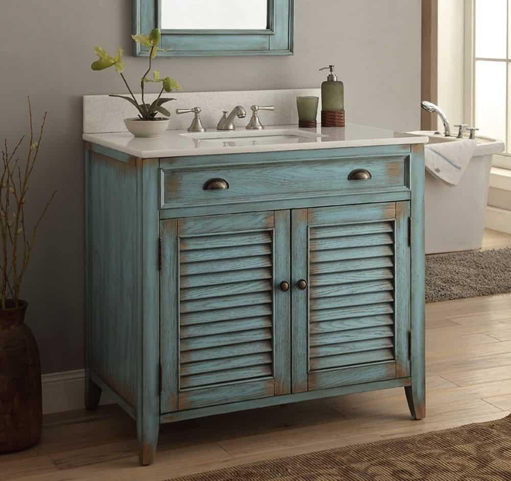 Rustic chic bathroom - Bathroom Vanity Ideas